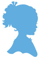 Marianne Design Creatable - Silhouette Girl with Braids Ref: LR0349