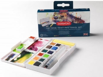 DERWENT INKTENSE PAINT PAN TRAVEL SET