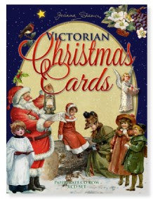 CD-Rom - Victorian Christmas Cards 3 Disk Set by Joanna Sheen
