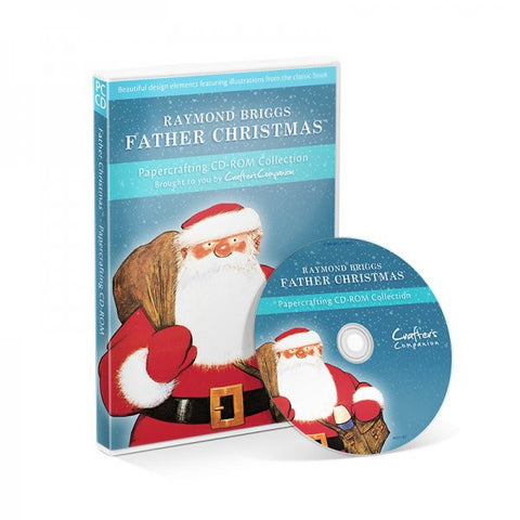 Raymond Briggs Father Christmas CD ROM by Crafter's Companion