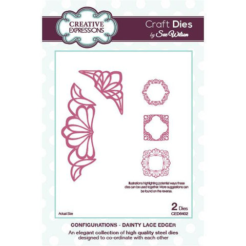 Configurations - Dainty Lace Edger CED6402 Creative Expressions Die Cuts