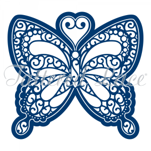 Kaleidoscope Butterfly XXL By Tattered Lace D528