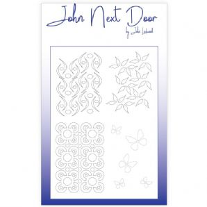 NEW John Next Door Mask Stencil - Quatro Flourishes