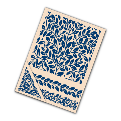 Embossing Folder Foliage (EF043) By Tattered Lace