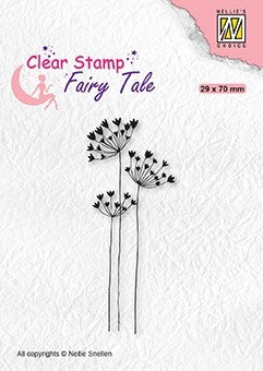 Fairy Tale Umbellifers Clear Stamps Nellie Snellen FTCS030