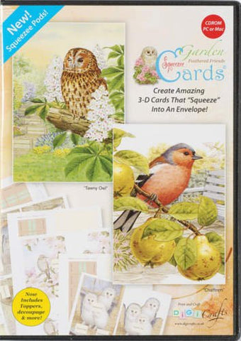Garden Feathered friends CD ROM by Digicraft