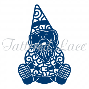 Bob the Gnome (D542) By Tattered Lace