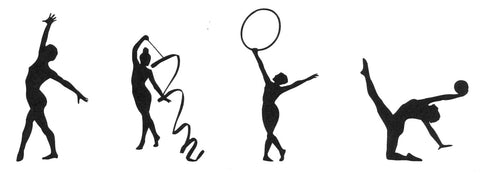 Claritystamp Ltd Graceful Gymnasts - Unmounted Clear Stamp Set