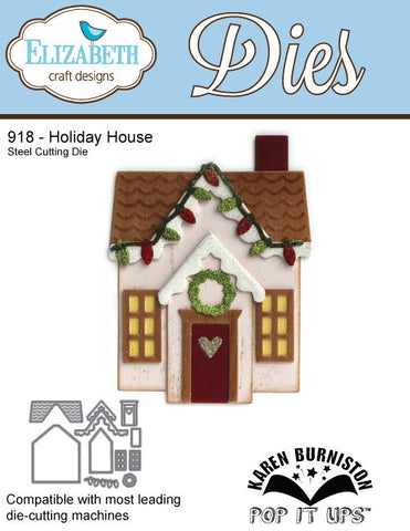 Holiday House - 918 By Elizabeth Craft Designs