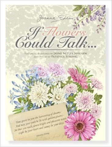 If Flowers Could Talk Paper Craft CD by Joanna Sheen