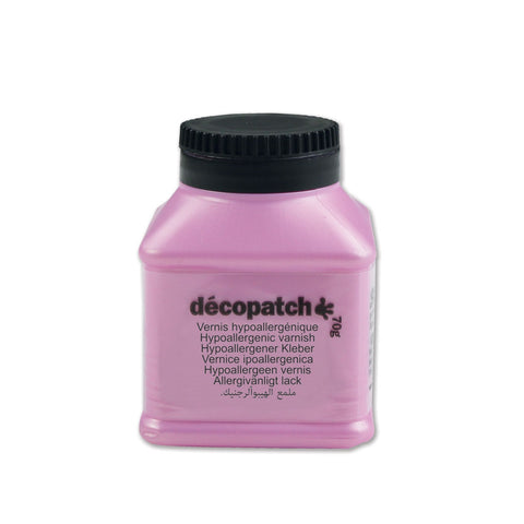 Decopatch Hypoallergenic Varnish 70g