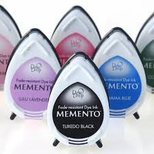 Memento Dew Drop Dye Base Ink Pads By Tsukineko (Verious Colours)
