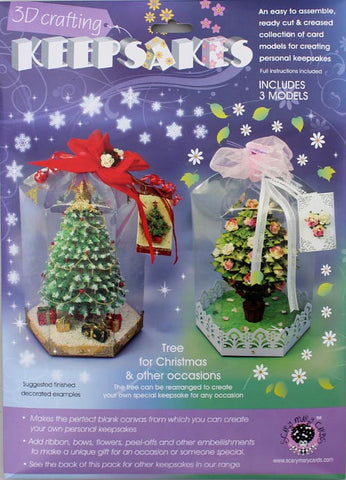 Christmas Tree & Occasions Tree 3pk Keepsake Scary Mary