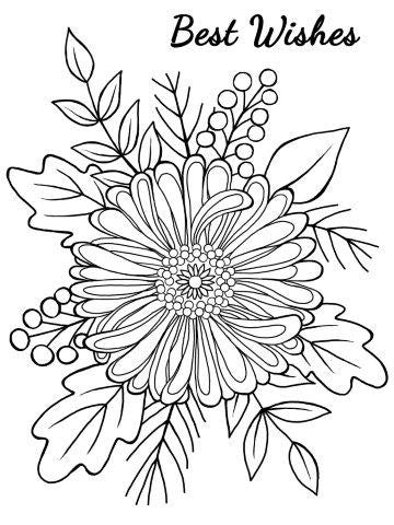 Bold Blooms - Tracey JGS558 Clear Magic Singles Woodware Craft Collection Acrylic Stamp Set