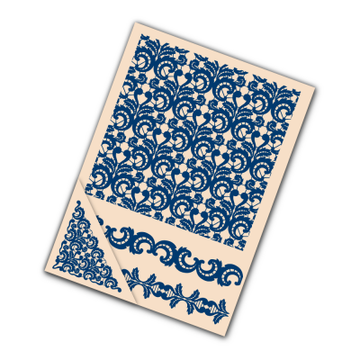 Embossing Folder Lace (EF044) By Tattered Lace