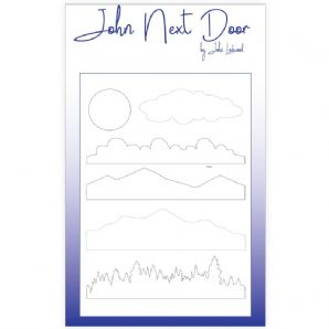 NEW John Next Door Mask Stencil - A5 Landscapes