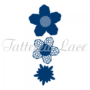 Lavish Blooms Aster (D284) By Tattered Lace