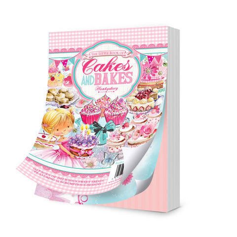 The Little Book Of Cakes and Bakes By Hunkydory
