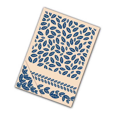 Embossing Folder Autumn Leaves (EF030) By Tattered Lace