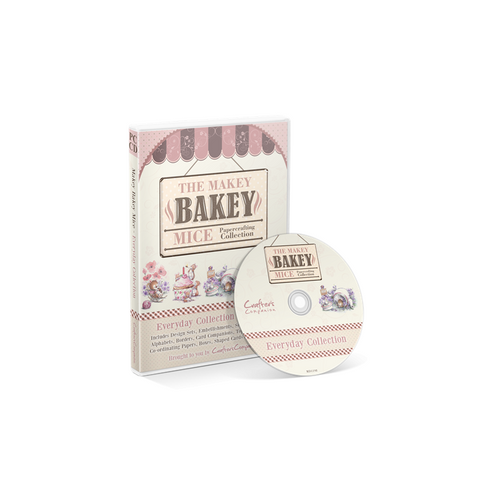 Makey Bakey Mice Everyday AND Christmas Papercrafting by Crafters Companion