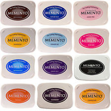 Memento Dye Base Ink Pads By Tsukineko (Verious Colours)