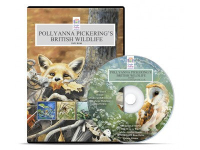 Pollyanna Pickering British Wildlife Papercrafting DVD ROM