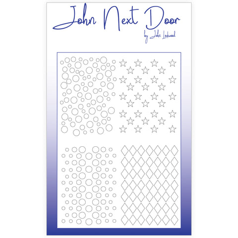 John Next Door Mask Stencil - Quatro Stars