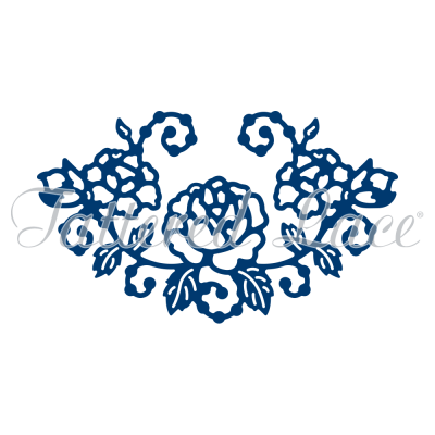 Rose Embellishment (D1152) By Tattered Lace