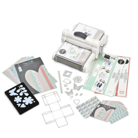 Sizzix Big Shot Die Cutting Machine Starter Kit