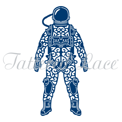 Spaceman (D1292) By Tattered Lace