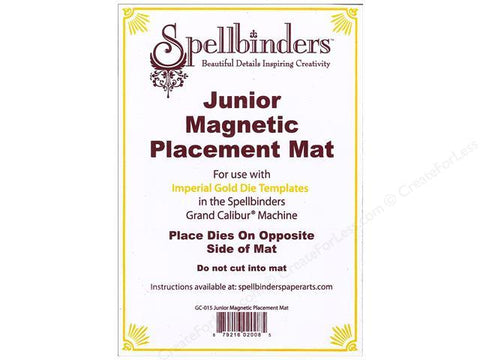 Spellbinders Junior Magnetic Placement Mat GC-015