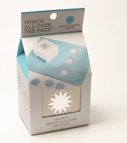 Martha Stewart Crafts Punch All Over The Page Star Burst