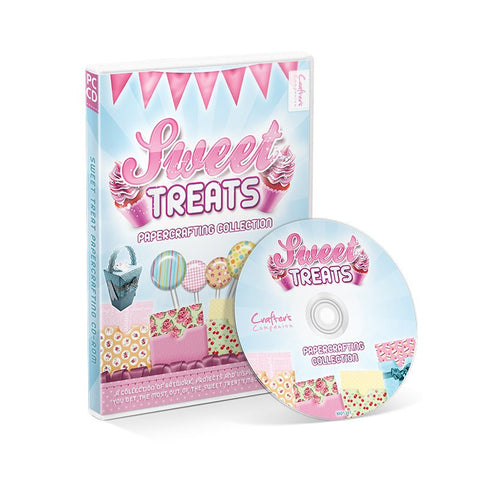 Sweet Treats CD ROM by Crafters Companion