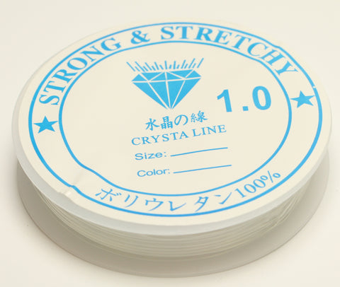 Crystal Thread Clear Stronge & Stretchy 1mm 4m TRC182