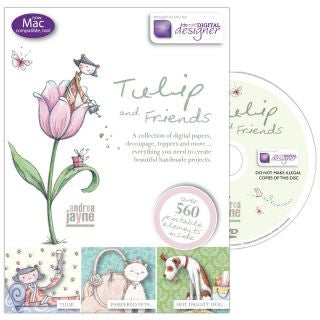 TULIP & FRIENDS CD-ROM by Docraft