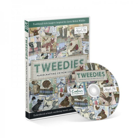 Crafters Companion Tweedies Papercrafting CD-ROM Collection