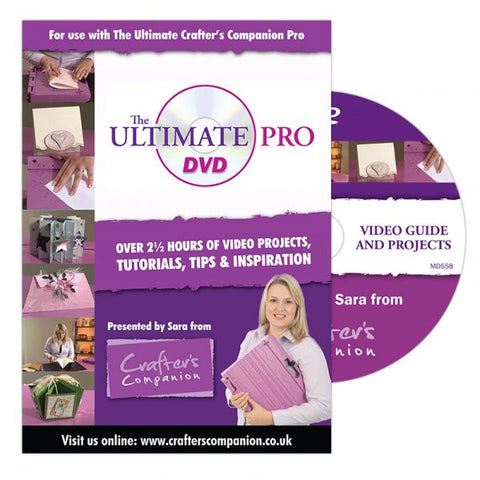 The Ultimate Pro DVD by Crafters Companion