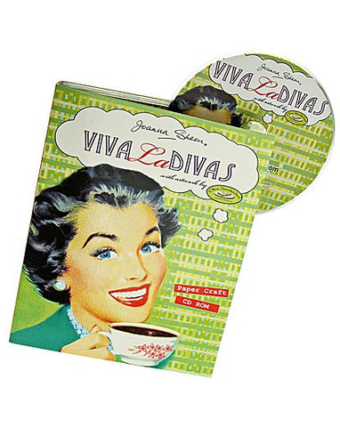 Viva La Divas Paper Craft CD by Joanna Sheen
