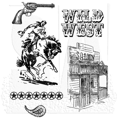 Stampers Anonymous Wild West By Tim Holtz
