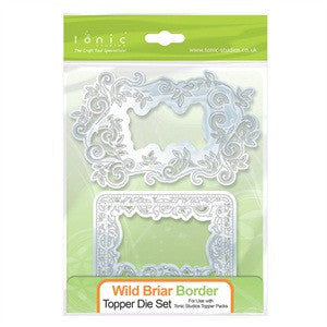 Wild Briar Border Topper Die Set By Tonic Studios 165e