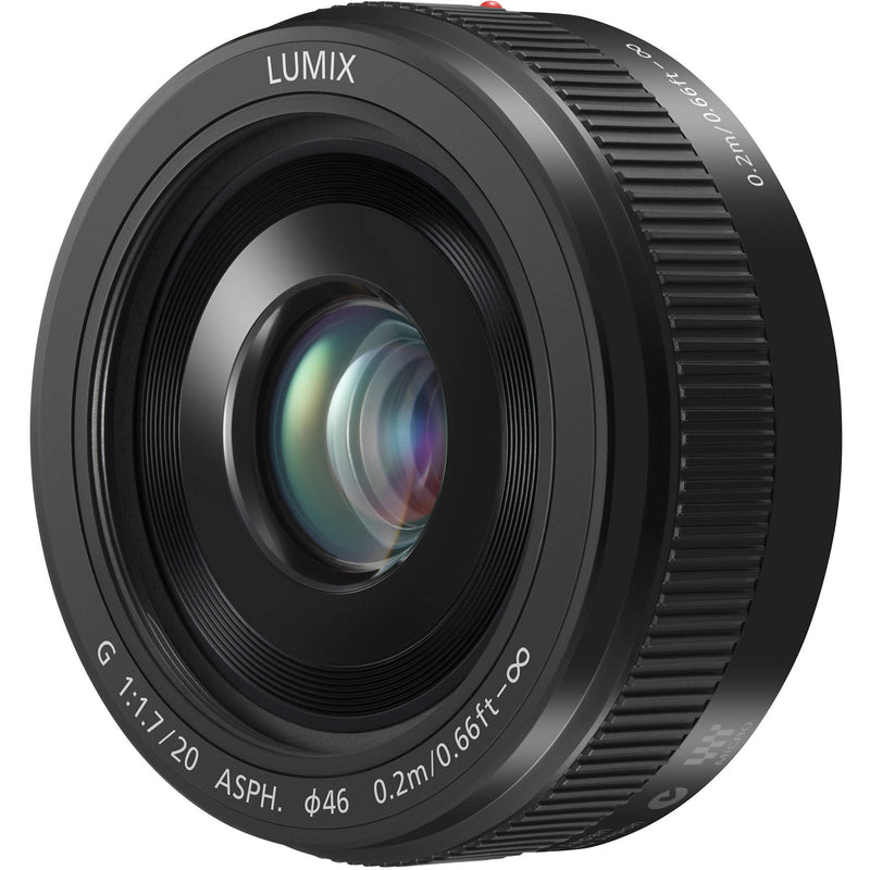 Panasonic MFT 20mm F1.7 Lens