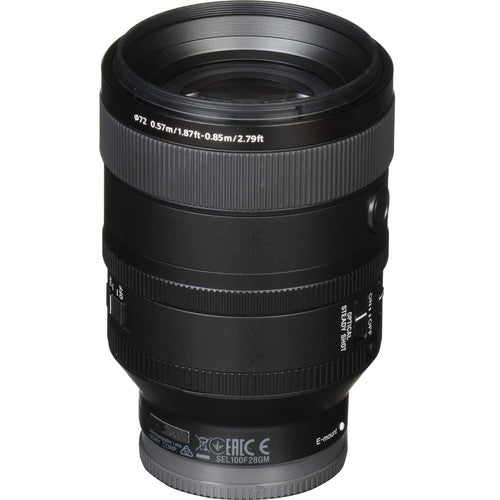 Sony FE 100mm F2.8 GM Lens