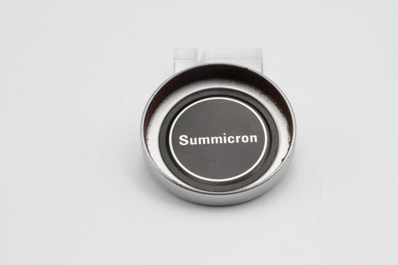 Used Vintage Leica Summicron 5cm Metal Front Lens Cap