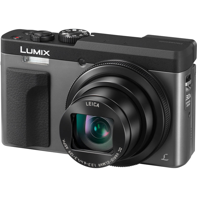 Panasonic Lumix ZS70 Point & Shoot Camera [Silver]