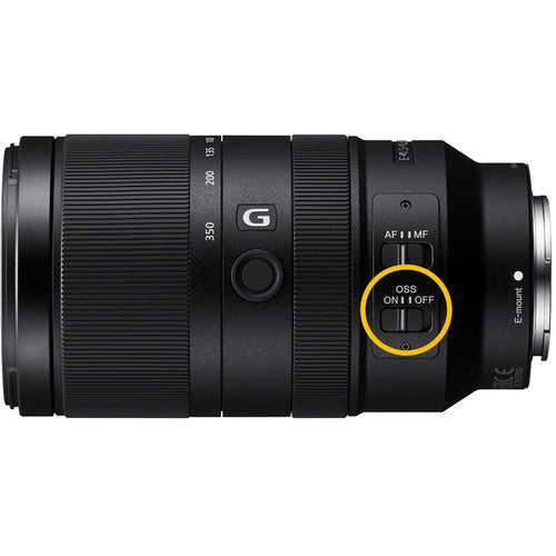 Sony E 70-350mm F4-6.3 G OSS