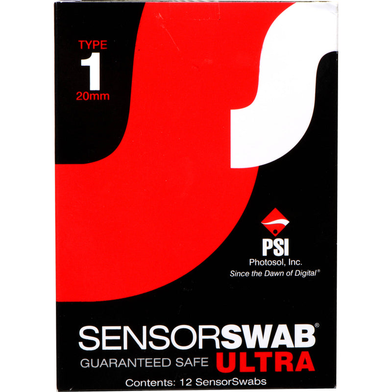 Photographic Solutions Type 1 Sensor Swab Ultra (12-Pack, 20mm)