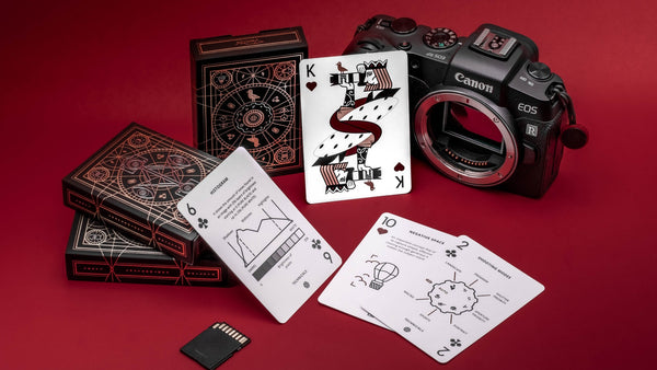 The Photography Deck: Camera Cheat Sheet Playing Cards