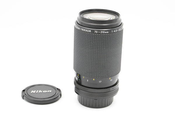USED Nikon Nikkor 70-210mm F4-5.6 [F/AI]  (#2022553)