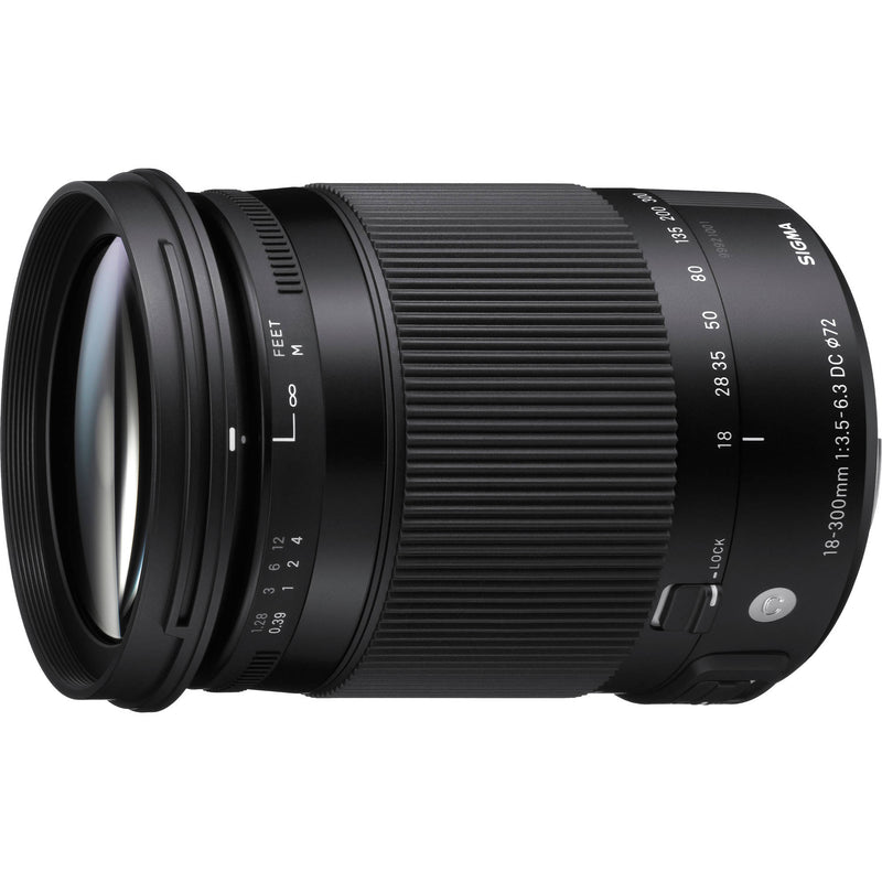 Sigma 18-300mm F3.5-6.3 DC OS HSM Contemporary Lens [Canon]