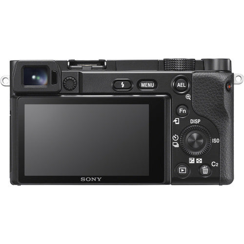 Sony Alpha a6100 Mirrorless Camera with 16-50mm and 55-210mm Lenses [Black]